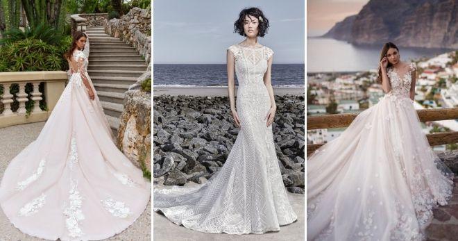 Wedding Dresses 2019 with train