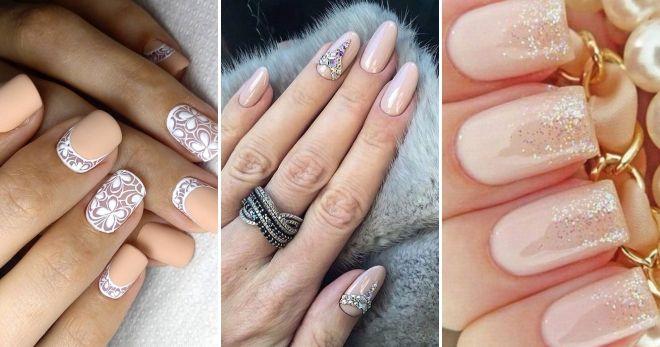 Wedding manicure 2019