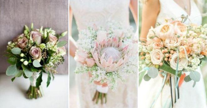 Wedding bouquet 2019 pastel