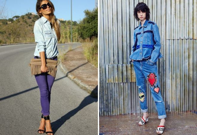 women's jeans shirts