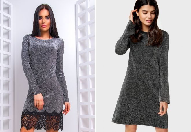 dress with lurex is fashionable or not