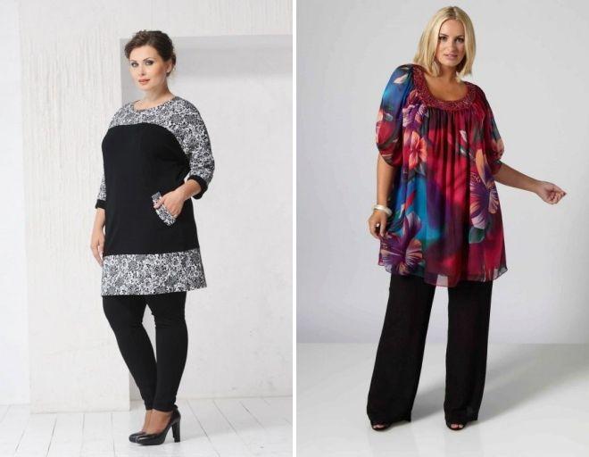 what to wear tunic dress full women