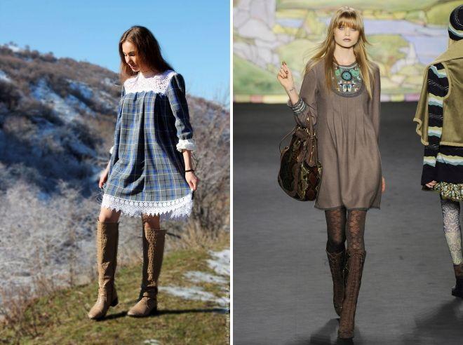 dress tunic boho