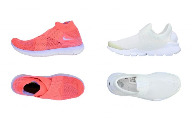 nike sneakers with toe