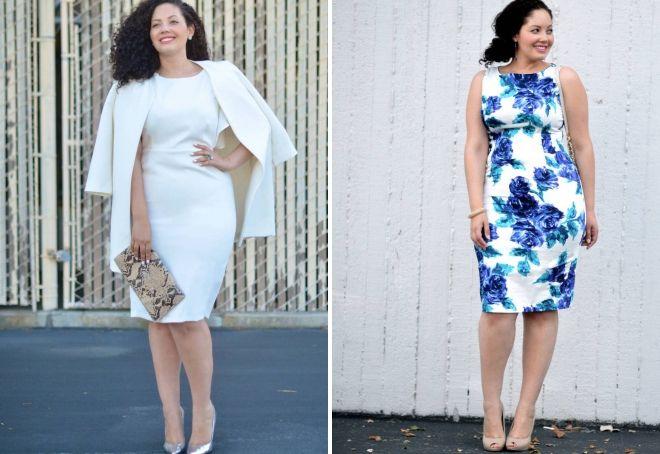 what to wear a sheath dress full of women