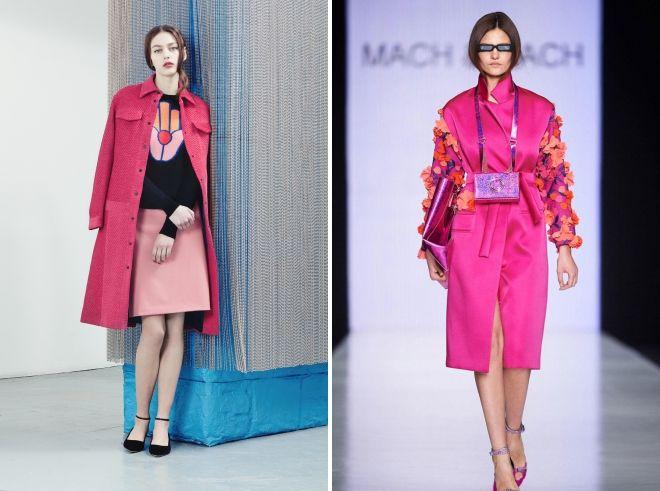pink coat 2019