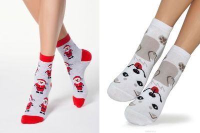 women's socks with a pattern