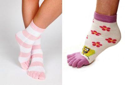 women's socks with fingers