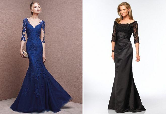 6f562d623ec Облегающие платья для мам на выпускной вечер представлены из эластичных и  нетянущихся материалов – блестящего стрейча