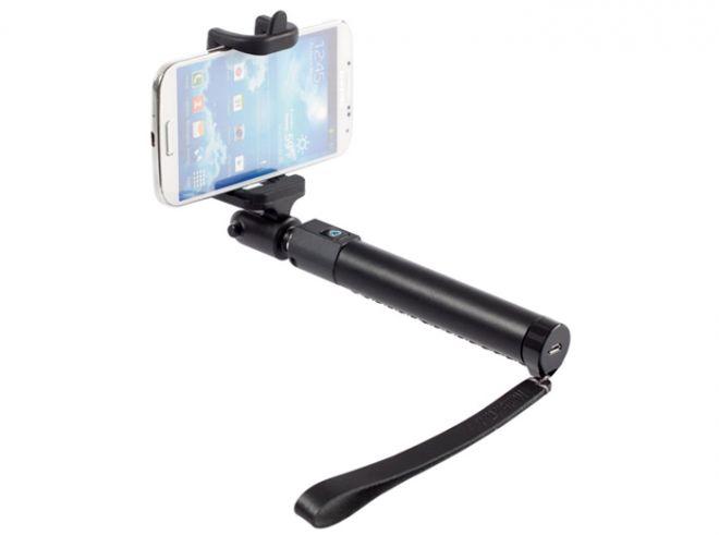 Paano gumagana ang wireless selfie sticks.