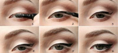 Arrows eyeliner step by step options everyday