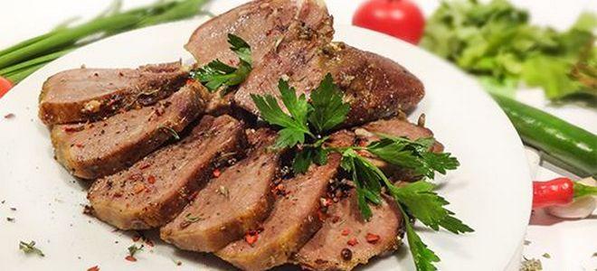 Сиыр етінің тілі сорпалық рецепті