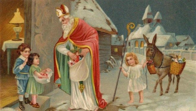 Historie Santa Claus
