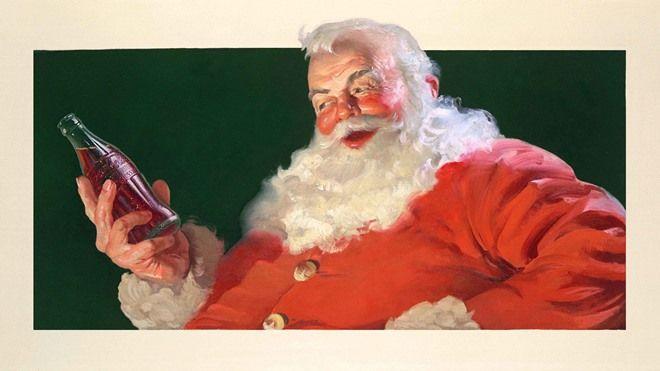 圣诞老人看起来像什么