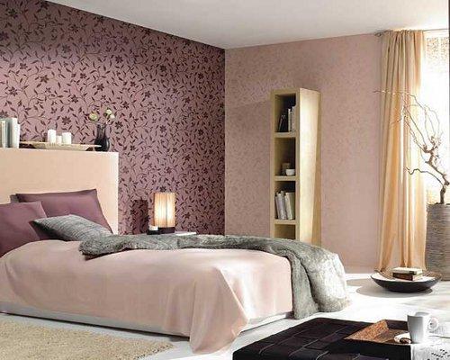 Интерьер спальни - обои