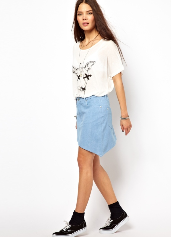 Модели юбок для подростков