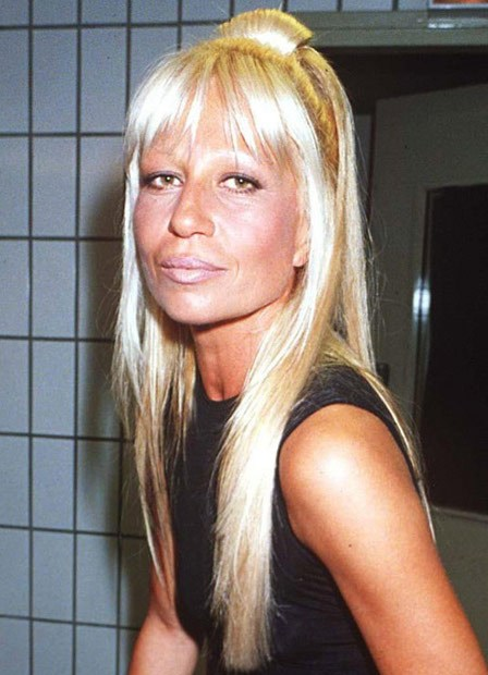 Донателла Версаче - до и после