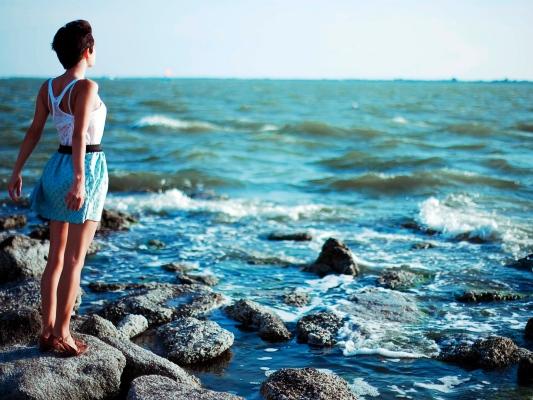 Идеи для фотосессии на море