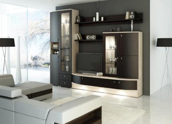 Мебель для гостиной - стенки
