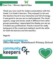 Rietenbosch Primary E-mail - 2017
