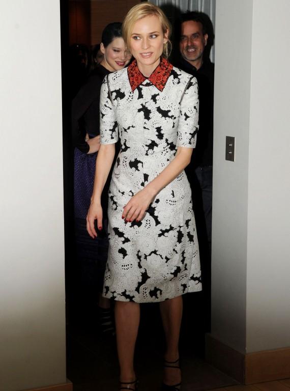 Diane Kruger Derek Lam Spring Dress