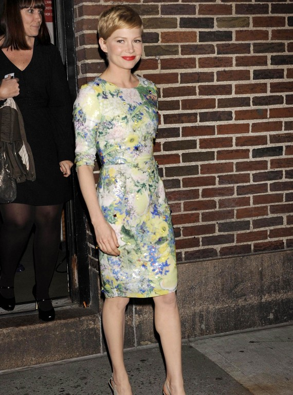 Michelle Williams, Erdem Spring Dresses