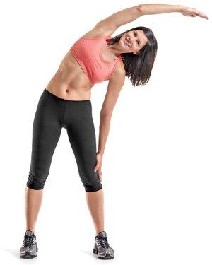 домашние упражнение для сжигания жира около