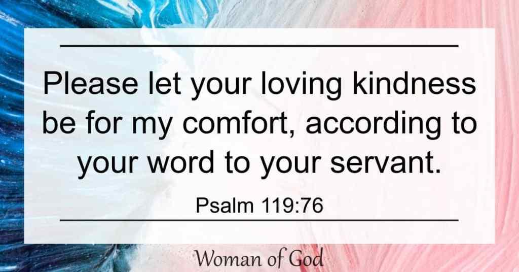 Psalm 119:76 Bible Verse