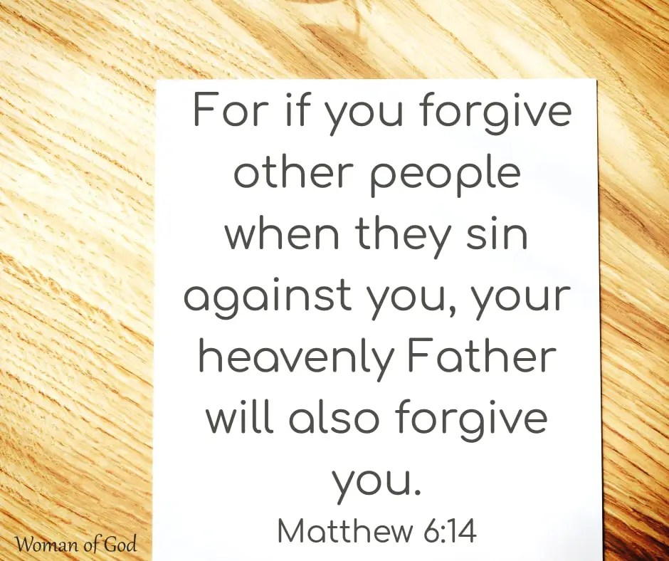 Matthew 6:14 Bible Verse