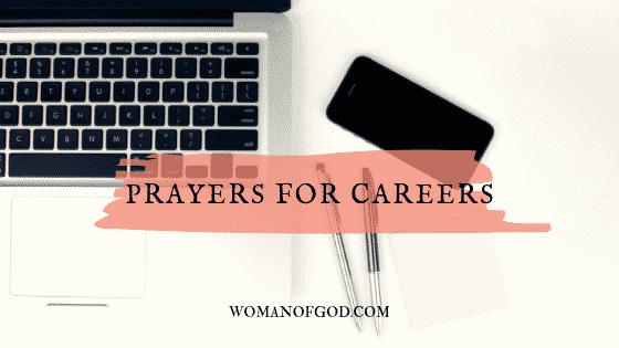 prayer for career