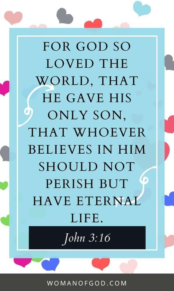 bible verse john 3:16 pin