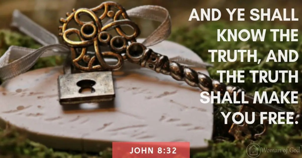 verse of the day john 8:32