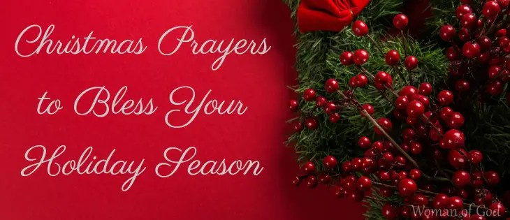 Christmas Prayers to Bless Your Holiday Season