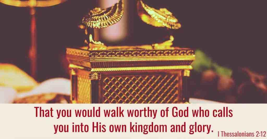 I Thessalonians 2:12 Bible Verse