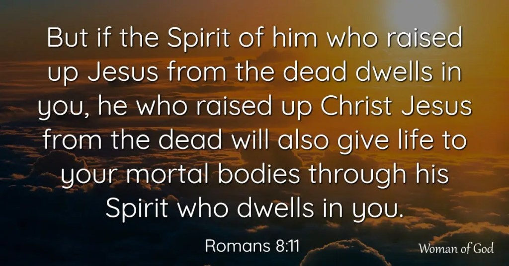 Romans 8:11 bible verse