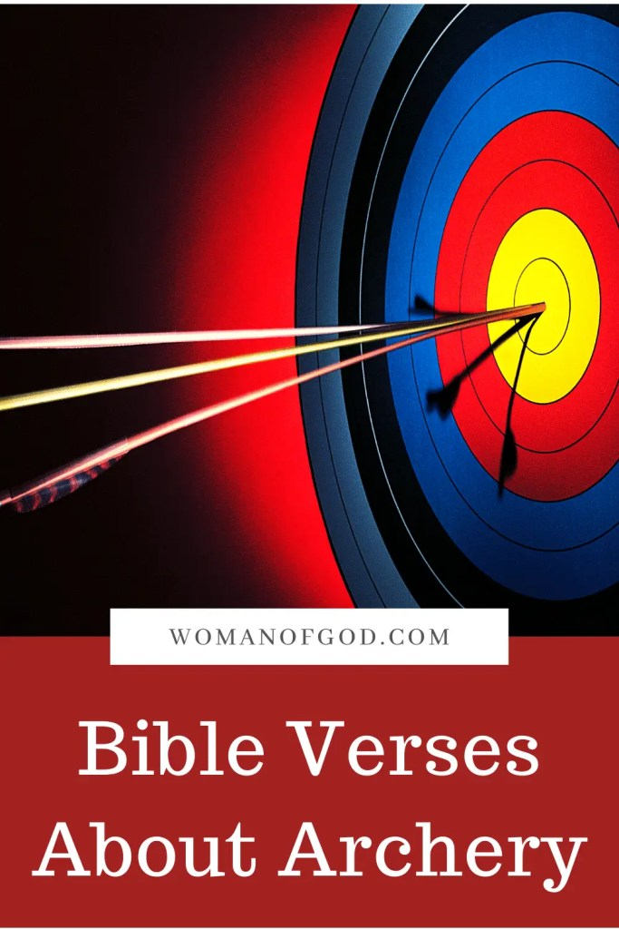 Bible Verses About Archery pins