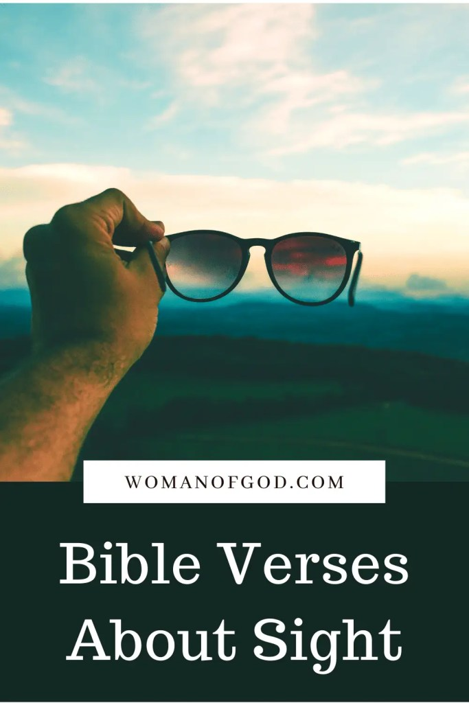 Bible Verses About Sight pins