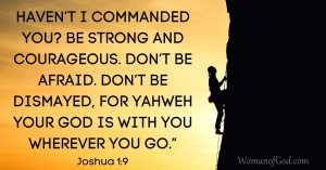 verse of the day joshua 1:9