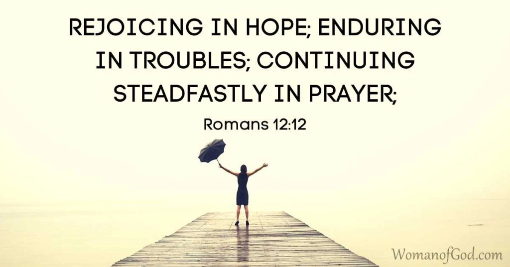 verse of the day romans 12:12