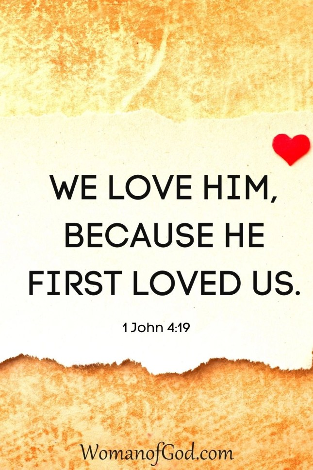 Verse of the Day 1 John 4:19
