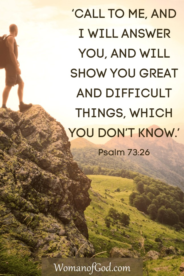 Verse of the Day Psalm 73:26