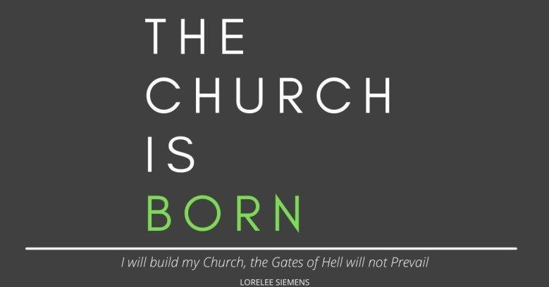 The Church is Born Book