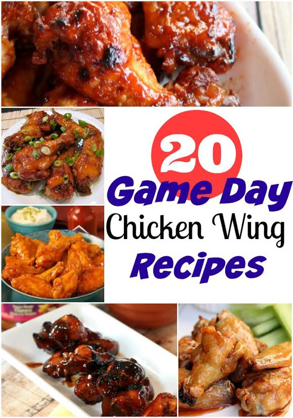 20 Game Day Wings Recipes