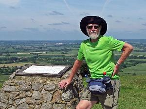 20140617_125012 Dennis at Ivinghoe Beacon 300