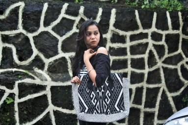 Bag - Black and white
