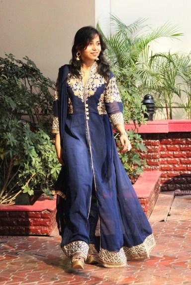 Indian-fashion-blogger-royal-blue-anarkali