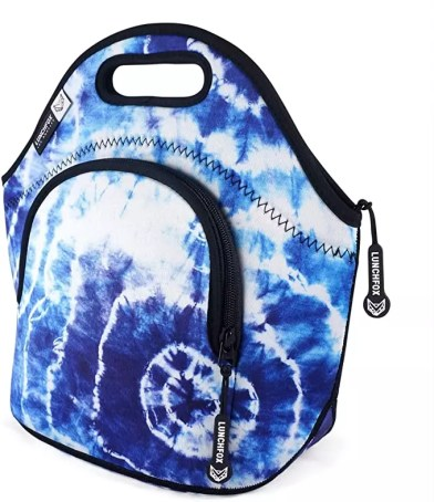 cool and trendy tie dye tote bag