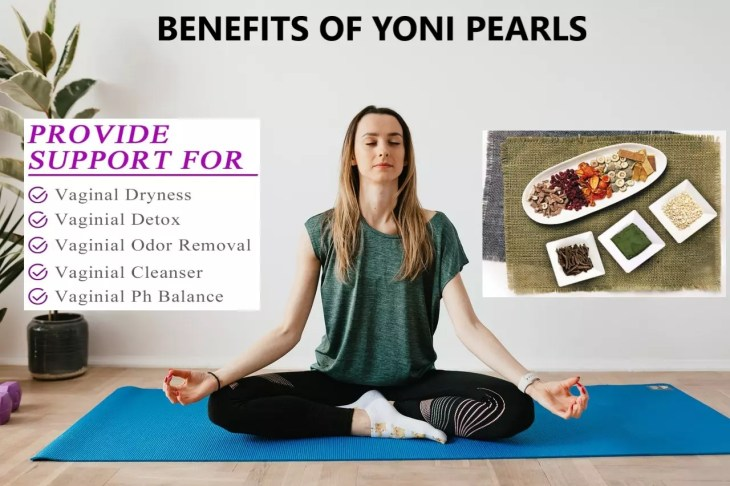 Benefits of yoni pearls