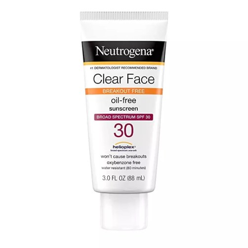 Neutrogena Clear Face Liquid Sunscreen