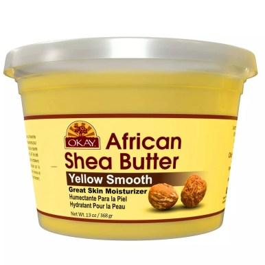 yellow shea butter